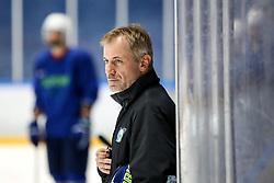 Ivo Jan during team Slovenia practice at IIHF World Championship DIV. I Group A Kazakhstan 2019, on May 4, 2019 in Barys Arena, Nur-Sultan, Kazakhstan. Photo by Matic Klansek Velej / Sportida