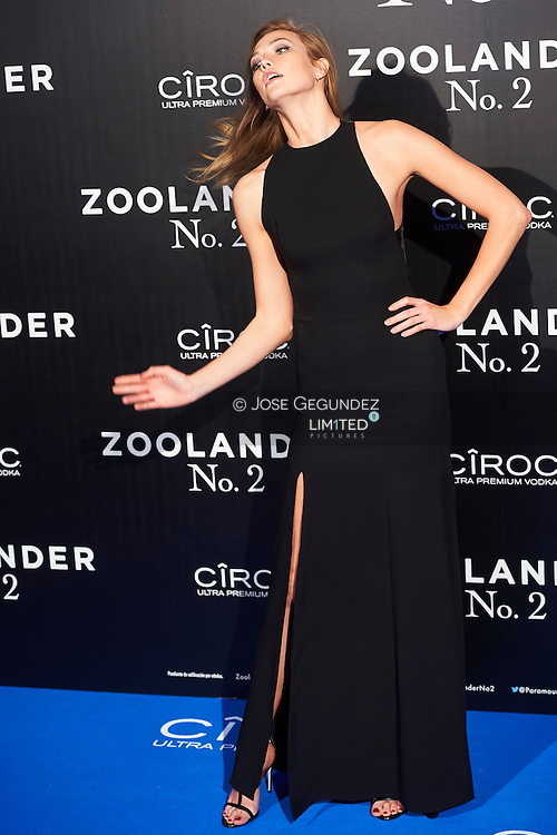 Mario Testino, Karlie Kloss attend 'Zoolander No. 2' film premiere at Capitol Cinema on February 1, 2016 in Madrid, Spain