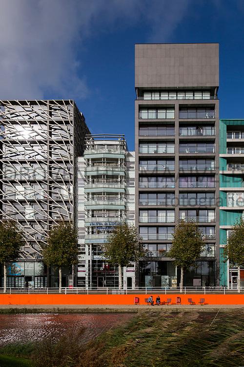 Lelystad, Zilverpark, Zilverkade.<br /> Ontwikkeld rond 2006. Stedenbouwkundigplan van Adriaan Geuze.