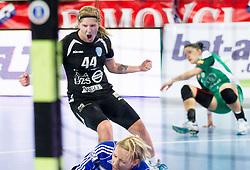 Maja Zrnec of Krim during handball match between RK Krim Mercator and Gyori Audi ETO KC (HUN) in 3rd Round of Group B of EHF Women's Champions League 2012/13 on October 28, 2012 in Arena Stozice, Ljubljana, Slovenia. (Photo By Vid Ponikvar / Sportida)