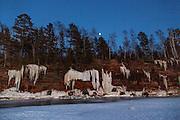 Apostle Island National Lake Shore ice caves.
