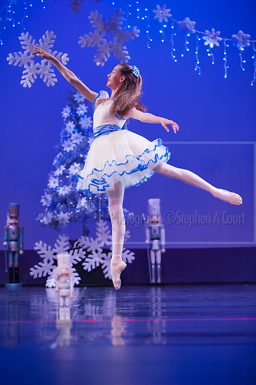 Wellington, NZ. 5.12.2015. Clara, from the Wellington Dance & Performing Arts Academy end of year stage-show 2015. Little Show, Saturday 12.45pm. Photo credit: Stephen A'Court.  COPYRIGHT ©Stephen A'Court