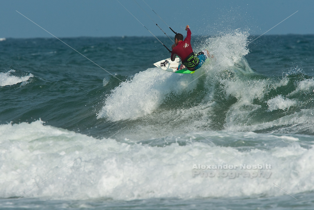 Outerbanks, NC - Kiteboarding at the Triple-S 2011