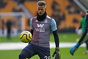 Orjan Nyland of Aston Villa during the Premier League match between Wolverhampton Wanderers and Aston Villa at Molineux, Wolverhampton, England on 10 November 2019.