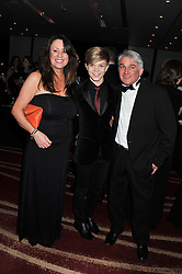 Singer RONAN PARKE with his parents TREVOR & MAGGIE PARKE at the Soldiering On Awards 2013 held at the Park Plaza Hotel, Westminster Bridge, London SE1 on 23rd March 2013.