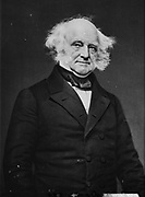 Martin Van Buren (1782-1862) Eighth President of the United States of America (1837-1841), the first President to be born an American citizen.   Photograph.