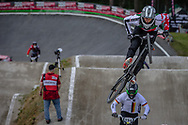 #49 (NYHAUG Tory) CAN during round 4 of the 2017 UCI BMX  Supercross World Cup in Zolder, Belgium.
