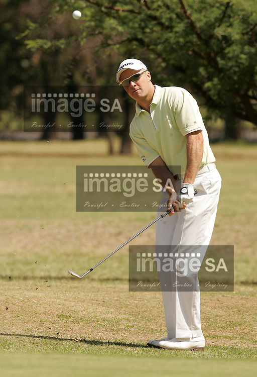 Bearing Man Highveld Classic| Ulrich van den Berg | WITBANK, Friday 5 October 2007, Ulrich van den Berg during the first round of the Bearing Man Highveld Classic being held at the Witbank Golf Club in Witbank, Mpumalanga Province...Photo by Roger Sedres/ImageSA