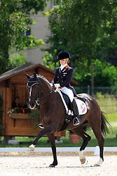 Van De Ven Suzanne (NED) - Donna Gracia<br /> FEI European Championship Juniors - Bern 2012<br /> © Hippo Foto - Leanjo de Koster