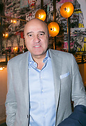 2018-03-20. De Bajes, Amsterdam. Lancering 6e editie van Amsterdam XXXL. Op de foto: John van den Heuvel