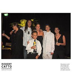 Rawiri Pene at the River Queen Premiere, Wanganui, New Zealand.