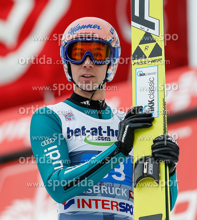 04.01.2014, Bergisel Schanze, Innsbruck, AUT, FIS Ski Sprung Weltcup, 62. Vierschanzentournee, Bewerb, im Bild Michael Neumayer (GER) // Michael Neumayer of Germany during Competition of 62nd Four Hills Tournament of FIS Ski Jumping World Cup at the Bergisel Schanze, Innsbruck, Austria on 2014/01/04. EXPA Pictures © 2014, PhotoCredit: EXPA/ Peter Rinderer