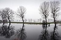 Hoog water bij Munnikenland