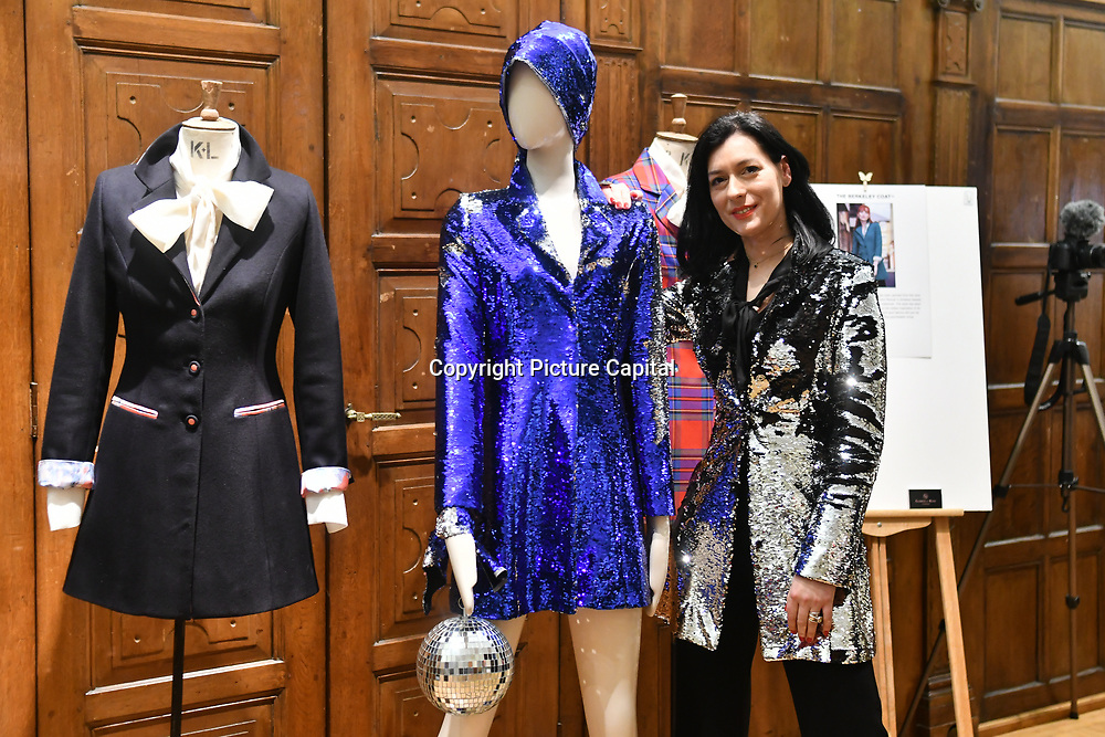 The Romanian Cultural Institute in London continues in its endeavour to promote upcoming Romanian designers herself Gabriela Rose, an established luxury brand on the British market on 21 Feb 2019, London, UK.