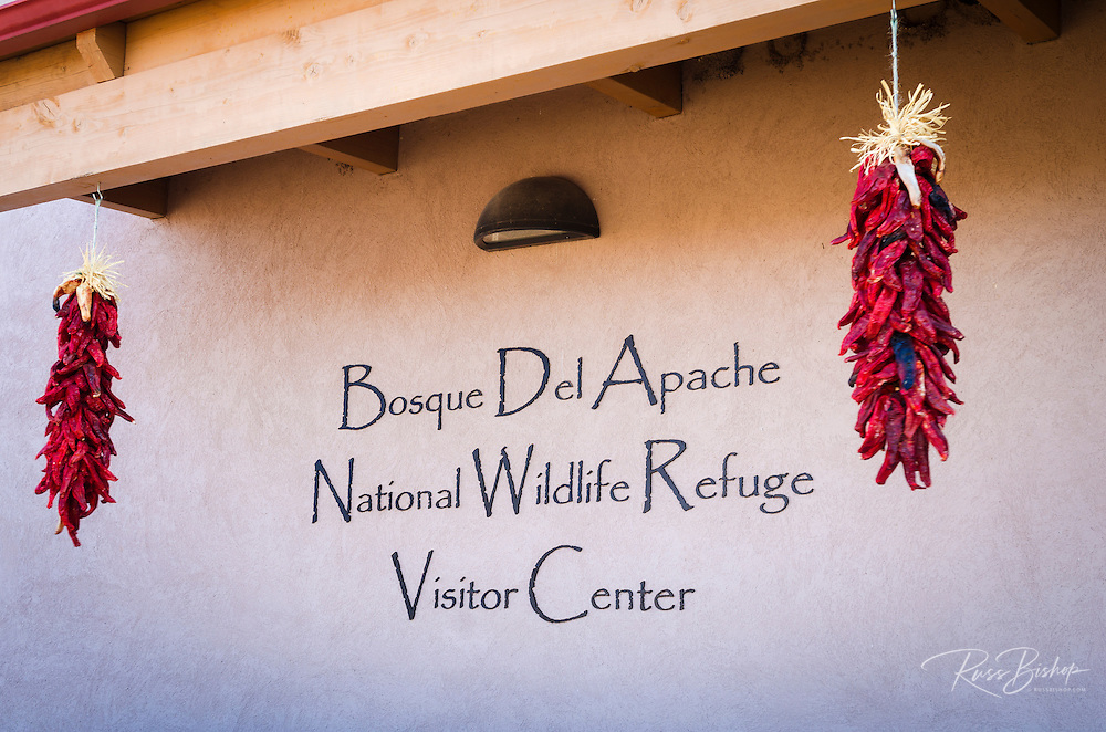 Visitor center at Bosque del Apache National Wildlife Refuge, New Mexico USA