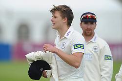 Tom Hampton of Gloucestershire Cricket  - Mandatory byline: Dougie Allward/JMP - 07966386802 - 22/09/2015 - Cricket - County Ground -Bristol,England - Gloucestershire CCC v Glamorgan CCC - LV=County Championship