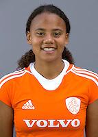 UTRECHT - Leiah Brigitha.  Jong Oranje meisjes -21 voor EK 2014 in Belgie (Waterloo). COPYRIGHT KOEN SUYK