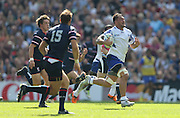 Samoa Jack Lam attacks during the Rugby World Cup 2015 match between Samoa and USA at the Brighton Community Stadium, Falmer, United Kingdom on 20 September 2015.