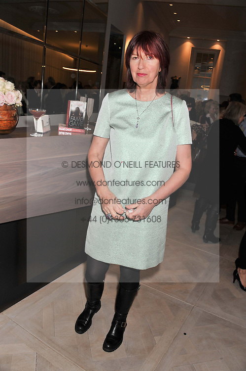 JANET STREET-PORTER at a party to celebrate the publication of Fame Game by Louise Fennell held at Grace, West Halkin Street, London on 12th March 2013.