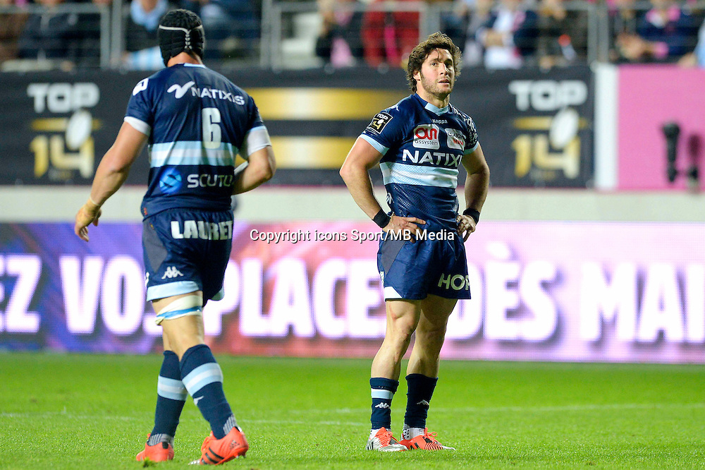 Deception Racing Metro - Maxime Machenaud - 29.05.2015 - Stade Francais / Racing Metro - Barrages Top 14<br /> Photo : Andre Ferreira / Icon Sport