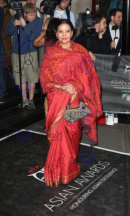 Shabana Azmi, The Asian Awards, Grosvenor House Hotel, London UK, 17 April 2015, Photo by Richard Goldschmidt