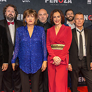 NLD/Amsterdam/20191118 - Filmpremiere Penoza: The Final Chapter, Cast Monic Hendrickx, Niels Gomperts, Stijn Taverne, Loek Peters, Raymond Thiry, Olga Zuiderhoek, Hajo Bruins,regisseur Diederik van Rooijen