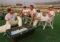 Clive Rice leads SA in India - 1991
