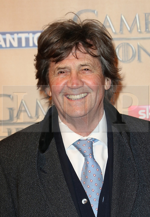 © Licensed to London News Pictures. 18/03/2015, UK. Ian Melvyn Bragg, Game of Thrones - Series Five World Premiere, Tower of London, London UK, 18 March 2015. Photo credit : Richard Goldschmidt/Piqtured/LNP
