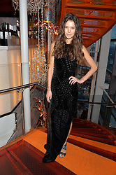 SARAH ANN MACKLIN at the OMEGA 100 days to Rio Olympics VIP Dinner at Sushi Samba, Heron Tower, 110 Bishopsgate, City of London on 27th April 2016.