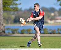 3 June 2013; Brian O'Driscoll, British & Irish Lions, during squad training ahead of their game against Western Force on Wednesday. British & Irish Lions Tour 2013, Squad Training, Langley Park, Perth, Australia. Picture credit: Stephen McCarthy / SPORTSFILE