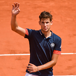 Dominic Thiem of Austria during Day 8 of the French Open 2018 on June 3, 2018 in Paris, France. (Photo by Baptiste Fernandez/Icon Sport)