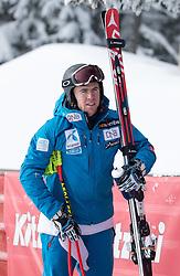 17.01.2017, Hahnenkamm, Kitzbühel, AUT, FIS Weltcup Ski Alpin, Kitzbuehel, Abfahrt, Herren, Streckenbesichtigung, im Bild Aleksander Aamodt Kilde (NOR) // Aleksander Aamodt Kilde of Norway during the course inspection for the men's downhill of FIS Ski Alpine World Cup at the Hahnenkamm in Kitzbühel, Austria on 2017/01/17. EXPA Pictures © 2017, PhotoCredit: EXPA/ Johann Groder