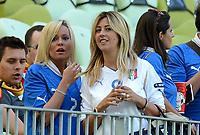 """Valeria MAGGIO , Roberta MARCHISIO (Italia)<br /> Danzica 10/06/2012  """"GDANSK ARENA""""<br /> Football calcio Europeo 2012  Spagna Vs Italia <br /> Football Calcio Euro 2012<br /> Foto Insidefoto Alessandro Sabattini"""
