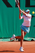 Roland Garros. Paris, France. June 2nd 2006. .Zuzana Ondraskova against Martina Hingis. .