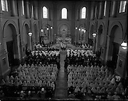 14/05/1957<br /> 05/14/1957<br /> 14 May 1957<br /> St Agatha's Daughters of Charity convent in North William Street, commemorating their centenary, Dublin. The Mass held as part of the celebrations in St. Agatha's Church.