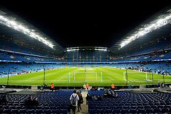 A general view of the Etihad Stadium - Mandatory byline: Matt McNulty/JMP - 15/03/2016 - FOOTBALL - Etihad Stadium - Manchester, England - Manchester City v Dynamo Kyiv - Champions League - Round of 16