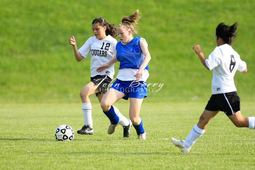 MCHS JV Girl's Soccer .vs Manassas Park .4/24/2008..