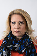 "Denise Fergus, Mother of James Bulger, photographed at her publisher's office in London. Fergus has written a book "" I Let Him Go"", her account of her son's murder and the aftermath of living with James Bulger's loss."