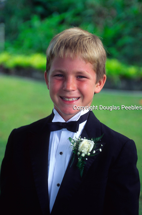 Boy in tuxedo<br />