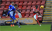 Zoumana Bakayogo during the Sky Bet League 1 match between Crewe Alexandra and Rochdale at Alexandra Stadium, Crewe, England on 6 February 2016. Photo by Daniel Youngs.