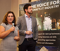 Repro  Free: Maureen Hardiman Kelly and Chris Hill  DXC Technology at  ITAG Members Update evening where some of the Nominees pitched their projects.   <br /> The ITAG Excellence Awards will take place on  November 17th Hotel Meyrick, Eyre Square, Galway.<br /> Winners in the following categories will be announced: <br />     New Talent of the Year Award<br />     Digital Woman Awards<br />     Emerging Technology Start Up Award<br />     Leadership Award<br />     Technology Innovation of the Year Award<br />     Digital Project Award<br />     ITAG Digital Enterprise Award &lt; 50 Employees<br />     ITAG Digital Enterprise Award &gt; 50 Employees.<br />  <br />  Photo:Andrew Downes, xposure.