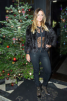 Fran Newman-Young,Made In Chelsea - perfume launch, Raffles, 287 King's Road, Chelsea, London UK, 09 December 2013, Photo by Raimondas Kazenas