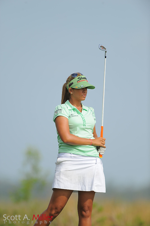 Nicole Hage during the second round of the Symetra Tour's Florida's Natural Charity Classic at the Lake Region Yacht and Country Club on March 24, 2012 in Winter Haven, Fla. ..©2012 Scott A. Miller.