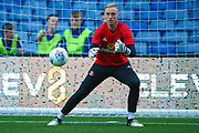 Sunderland Goalkeeper Jason Steele (1) warming up  during the EFL Sky Bet Championship match between Sheffield Wednesday and Sunderland at Hillsborough, Sheffield, England on 16 August 2017. Photo by Simon Davies.