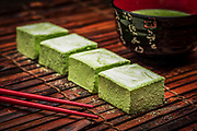 Japanese Matcha Swirl delicious dessert creations brought to you by Fluff 'n Stuff Gourmet Marshmallows in West Palm Beach, Florida - Photography by Jeffrey A McDonald