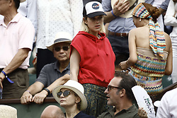 June 10, 2018 - Paris, Ile-de-France, France - French actress Marion Cotillard attend the Men Final of the 2018 French Open - Day Fithteen at Roland Garros on June 10, 2018 in Paris, France. (Credit Image: © Mehdi Taamallah/NurPhoto via ZUMA Press)