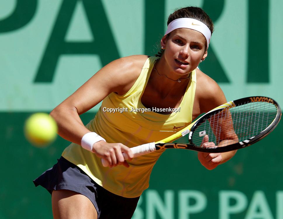 French Open 2011, Roland Garros,Paris,ITF Grand Slam Tennis Tournament, Julia Goerges (GER),.Einzelbild ,Aktion,
