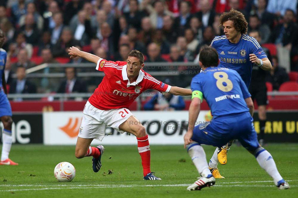 15-05-2013 VOETBAL: UEFA EL FINALE BENFICA - FC CHELSEA: AMSTERDAM<br /> NEMANJA MATIC<br /> ***NETHERLANDS ONLY***<br /> &copy;2013-FotoHoogendoorn.nl