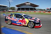 Shane Van Gisbergen (Red Bull Holden). 2016 Clipsal 500 Adelaide. V8 Supercars Championship Round 1. Adelaide Street Circuit, South Australia. Friday 4 March 2016. Photo: Clay Cross / photosport.nz