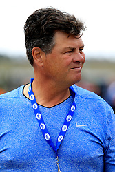 February 22, 2019 - Hampton, GA, U.S. - HAMPTON, GA - FEBRUARY 22: Former driver and team owner, Michael Waltrip looks on during first practice for the MENCS Folds of Honor QuikTrip 500 race on February 22, 2019 at the Atlanta Motor Speedway in Hampton, GA.  (Photo by David John Griffin/Icon Sportswire) (Credit Image: © David J. Griffin/Icon SMI via ZUMA Press)